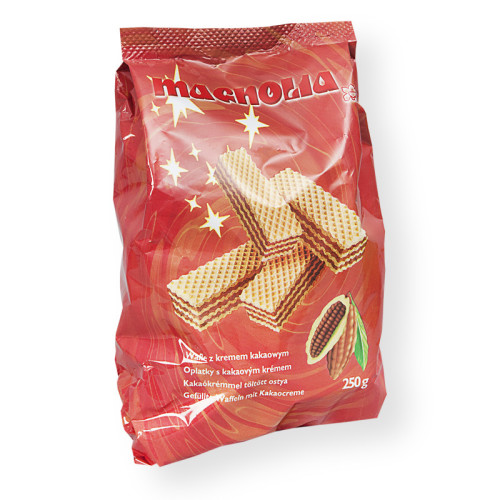 Wafle z kremem kakaowym torebka