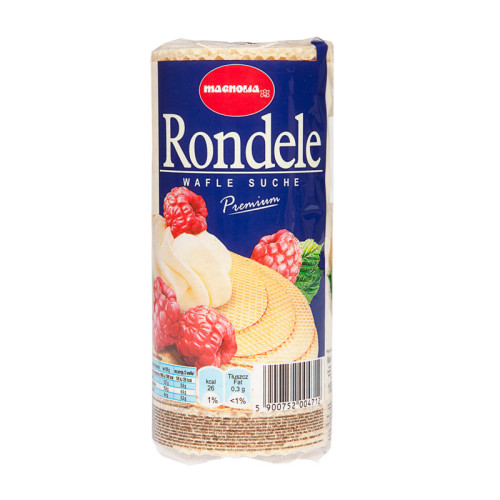 Rondele - Wafle suche okrągłe