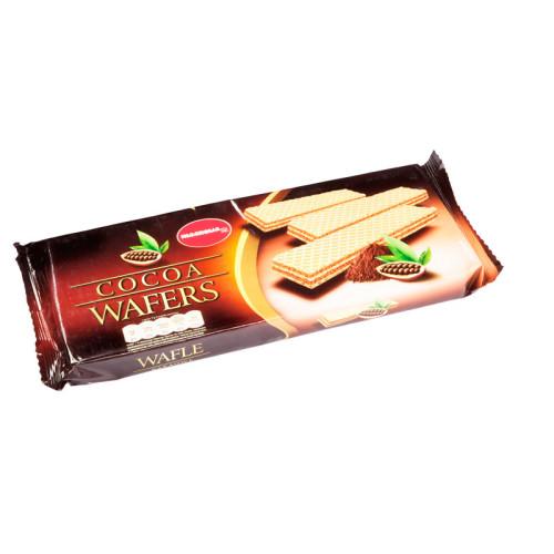 Wafle z kremem kakaowym
