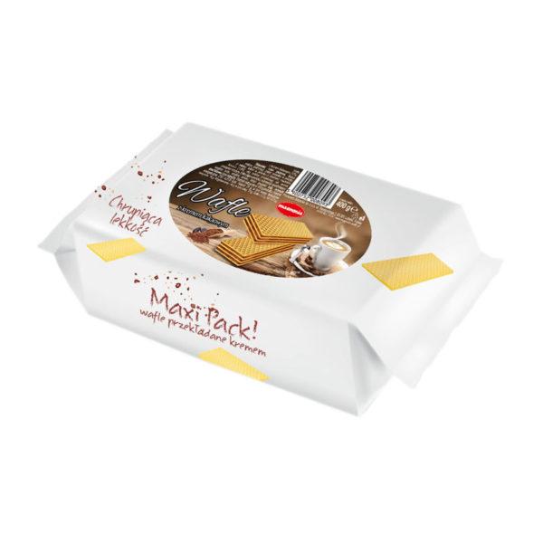 Maxi Pack - wafle z kremem kakaowym