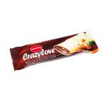 Crazy Love - rurka z kremem orzechowym