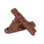Rurki z kremem orzechowym w mlecznej czekoladzie z orzechami arachidowymi