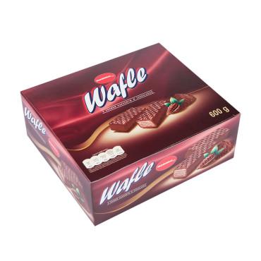 Wafle z kremem kakaowym w czekoladzie