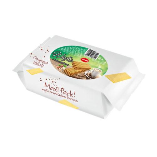 Maxi Pack - wafle z kremem orzechowym